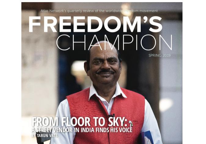 Freedom's champion