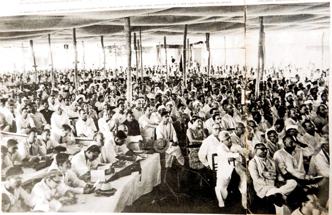 Swatantra Party assembly, Courtesy: Mid Day